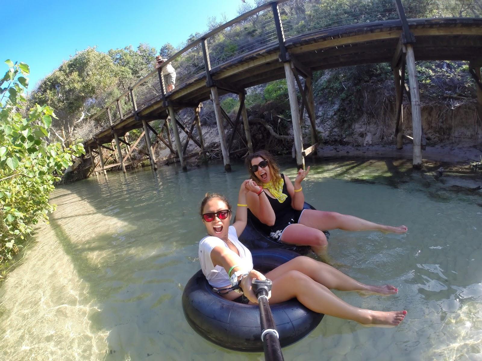 Canoeing Fraser Island