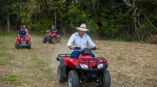 quad bike tours, Cairns, North Queensland
