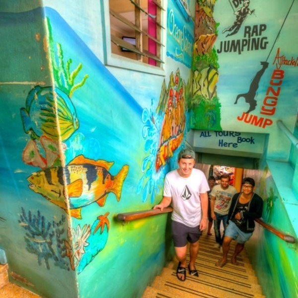Access to the accommodation at Corona Backpackers