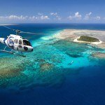 Great Barrier Reef scenic helicopter flights, North Queensland Australia