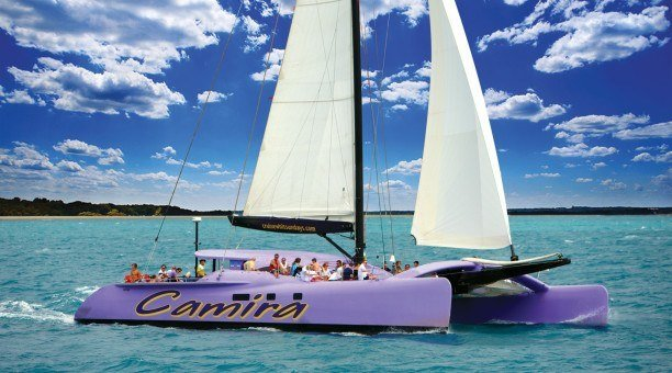Camira Sailing the beautiful Whitsundays