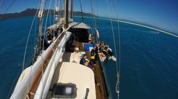 Derwent Hunter Sailing Whitsundays Australia