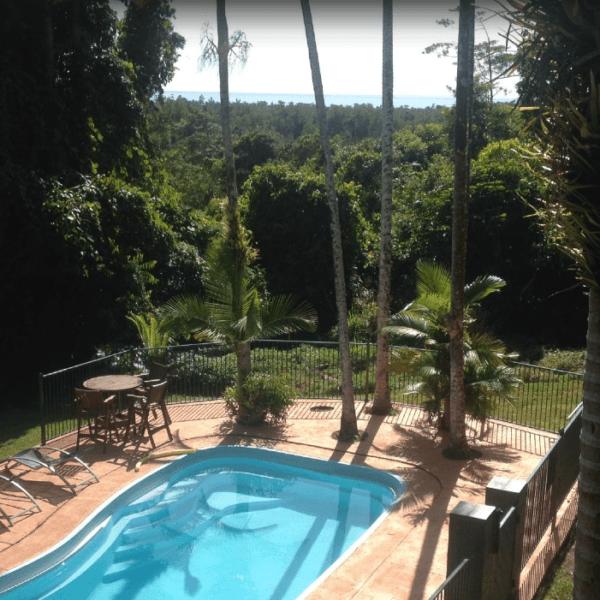 Beautiful views from the backyard