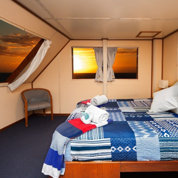 The best rooms onboard Reef Encounter