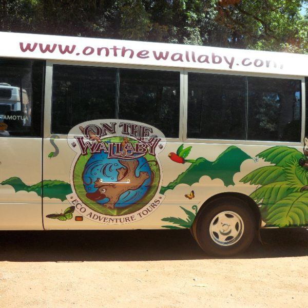 Our day tour bus
