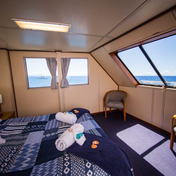 Top Deck room on board Reef Encounter