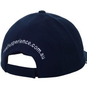 Reef Experience blue cap back