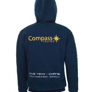 Compass Cruises Hoodie Back