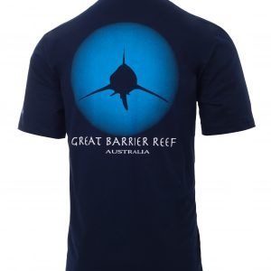 Reef Experience Shark Tshirt back