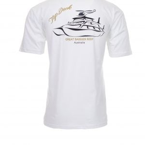 Reef Encounter Top Deck Tshirt Back