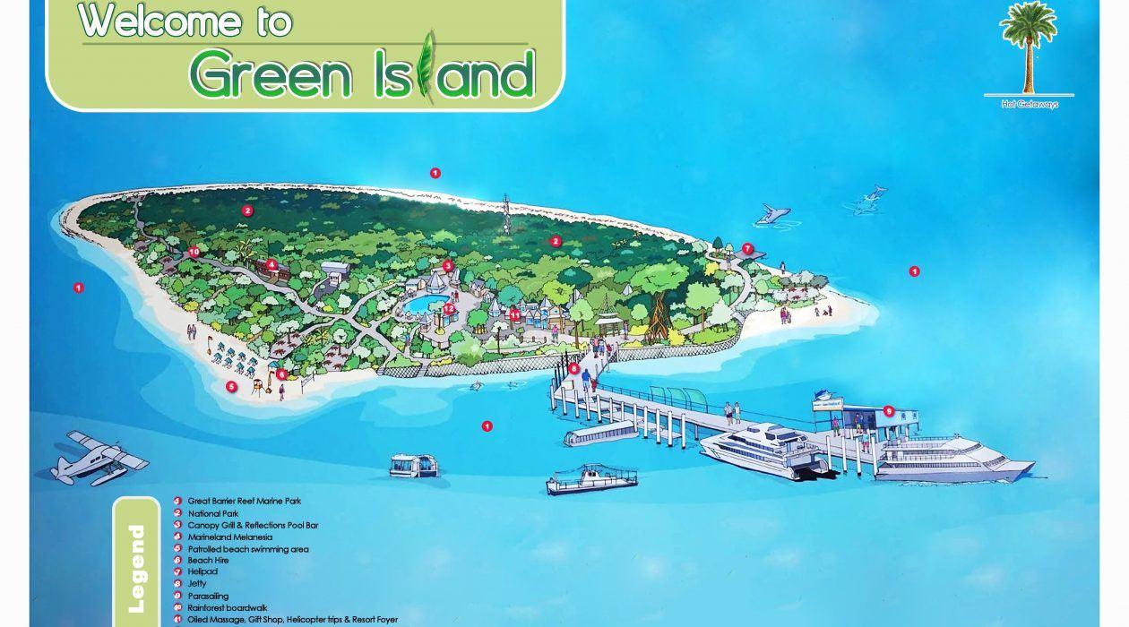 Green Island Resort Island Room
