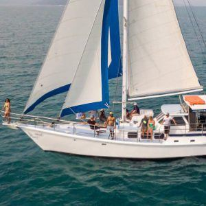 Sailing and diving Whitsundays