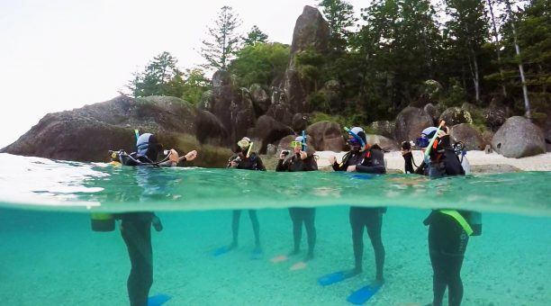 Take the opportunity to join a shore dive as well as an outer reef dive