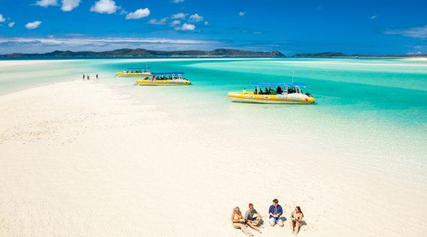 Get easy access to Whitehaven Beach on the semi-rigid inflatable raft