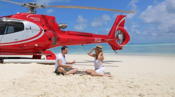 Great Barrier Reef  Helicopter Getaway