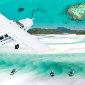 Fly and Raft Ocean Rafting Whitsunday Islands