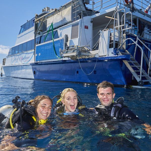 Fun learning to dive on Reef Experience