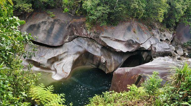 Devils Pool at the Babinda Boulders