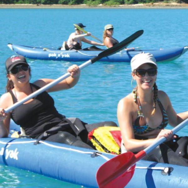 Sailing Whitsunday Snorkel and Kayak Overnight