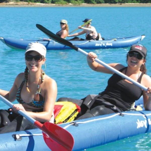 Snorkel and Kayak Whitsunday Overnight Sailing