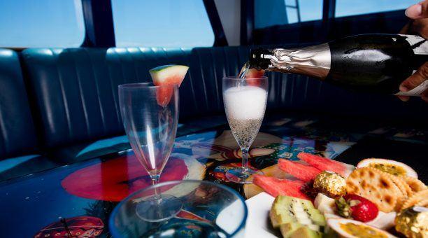 Australian Sparkling Wine on the Return Journey