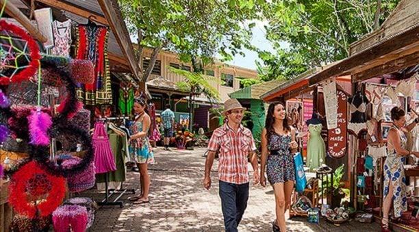 Stroll through the Original Kuranda Markets