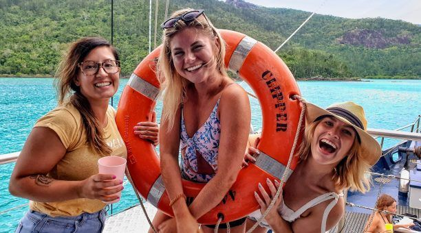 Have a ball on this Sailing Trip. Bring your friends or make some new ones!
